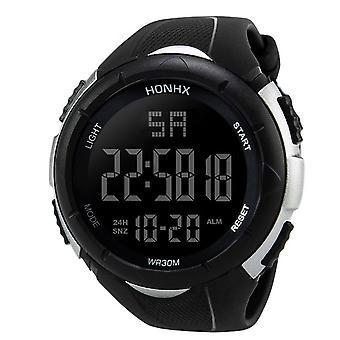 Męski's casual moda elektroniczny zegarek