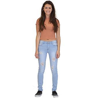 Ripped Distressed Slim Skinny Jeans