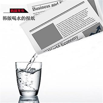 Drink In Water Newspaper Hidden Water Magic Tricks - Procps Classic Illusions