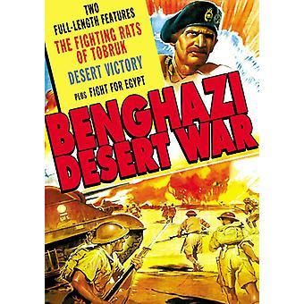 Fighting rotilla Tobruk/Desert War/Fight [DVD] USA tuonti