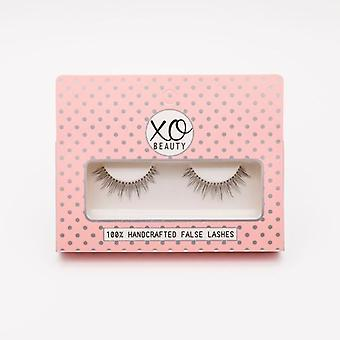 xoBeauty False Lashes - The Girl Next Door - Dramatic Ultra Curled Winged Out