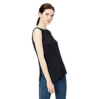 Marca - Daily Ritual Women's Jersey Sleeveless Shell Top With Side Spl...