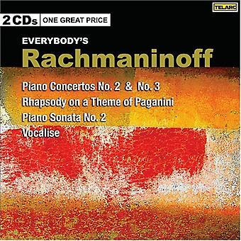 S. Rachmaninoff - Everybody's Rachmaninoff: Piano Concertos No. 2 & No. 3 [CD] USA import