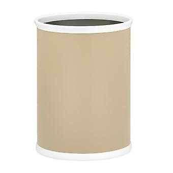 Ivory 10.75 Inches Rd. Waste Basket