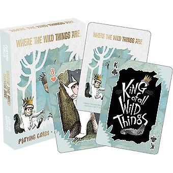 Playing Cards - Where The Wild Things Are - Poker Games New 52702