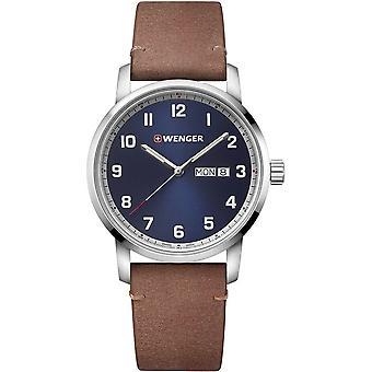 Wenger - Wristwatch - Men - Attitude - 01.1541.114 - blue, 42 mm