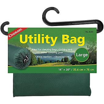 "Coghlan's Utility Bag, 14"" x 30"", Water Repellent Storage, Camping Clothing"