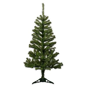 4ft (120cm) keinotekoinen mänty joulukuusi jalustalla