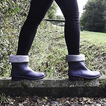 Mud Dogs Lina Ladies Warm Lined Boots Navy