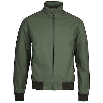 Fred Perry Made in England Dark Fern Harrington Jacket