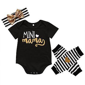 Vastasyntynyt vauva romper, jalka lämpimämpi otsapanta vaatteet