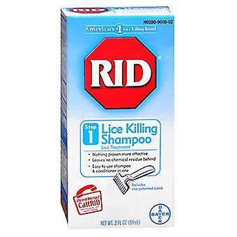 باير Rid Lice Killing الشامبو، الخطوة 1 2 أوقية