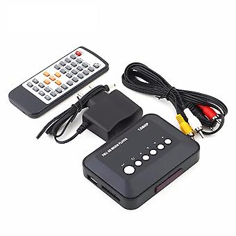 Sd/mmc/rmvb/mp3/usb/hdmi Supported Media Player Box With Ir Remote Controller