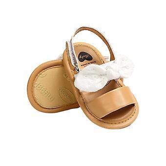 الصيف حديثي الولادة طفل الطفل الصيف عارضة لطيف أحذية Bowknot