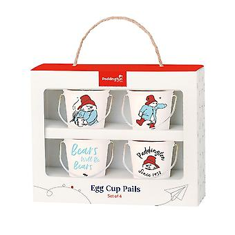 Paddington Bear Egg Cup Pails, Crème