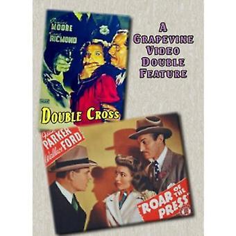 Double Cross (1941)/Roar of the Press (1941) [DVD] USA import