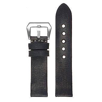 Strapsco vintage washed leather quick release strap