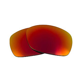 Replacement Lenses for Oakley Sideways Sunglasses Anti-Scratch Red Mirror