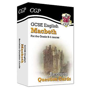 Novo Grau 9-1 GCSE English Shakespeare - Macbeth Revision Question Cards
