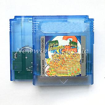 Super M Land 2 Dx-6 Gold Coins For 16 Bit Console For Video Game, Cartridge