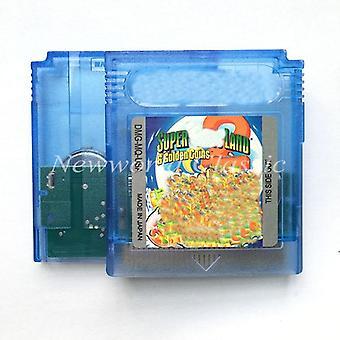 Super M Land 2 Dx-6 kultakolikot 16-bittinen konsoli videopeli, patruuna