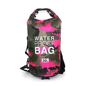 Waterdichte droge zak met grote capaciteit voor kamperen, driften en zwemmen