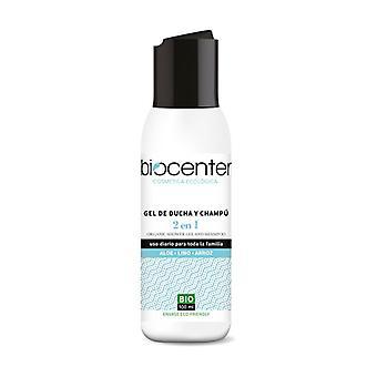 Shower Gel and Shampoo 2 in 1 Aloe Linen Rice Bio 100 ml