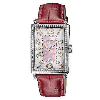 Gevril Mujeres's 6208RV Glamour Reloj Automático De Diamante Rosa [Ver]