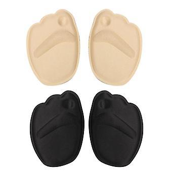 منصات أحذية Insole forefoot، عالية الكعب لينة، المضادة للانزلاق الوسائد حماية القدم،