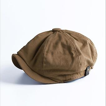 Fashion Vintage Newsboy Hat, Korean Version Casual Tide Personality Beret Cap