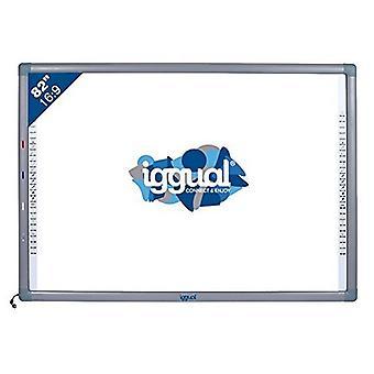 "Interactive Whiteboard iggual IGG314388 82"" 16:9 Infrarouge"