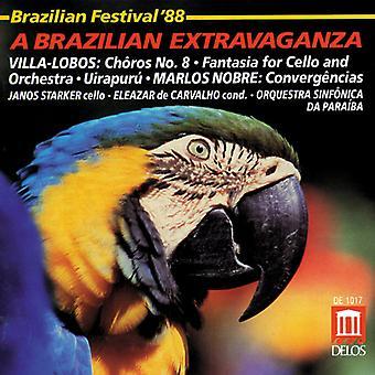 H. Villa-Lobos - Brazilian Festival '88: A Brazilian Extravaganza [CD] USA import