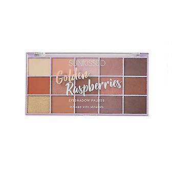 Sunkissed Golden Raspberries Eyeshadow Palette 1.7g x 15