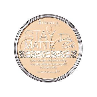 Rimmel Stay Matte Pressed Powder 14g - Transparent