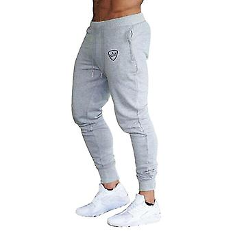 Men Fitness Cargo Pants, Slim Fit Tracksuit Sport, Gym, Jogging, Joggers