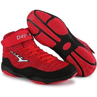 Boxing Wrestling, Fighting, Weightlift Shoes Soft Wearable, Training Boots