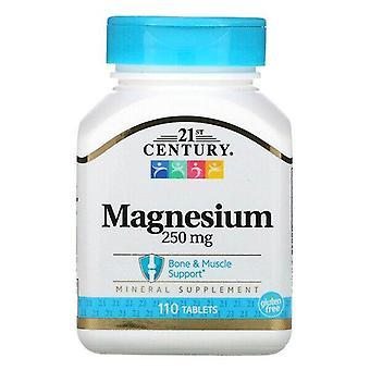 21st Century, Magnesium, 250 mg, 110 Tablets