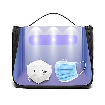 Bag Portable Led Uv Disinfection Box Personal Cleaning Pack Beauty Tools (bag)
