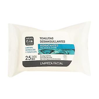 Moisturizing Makeup Remover Wipes 25 units