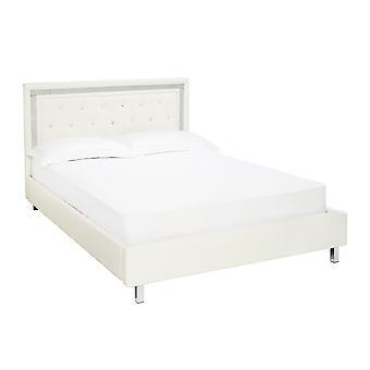 Diamond 5.0 Kingsize Bed White