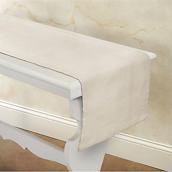"""Spura Home indiai kézzel készített tejszínhab dekor asztali runner 14""""x72"""""""