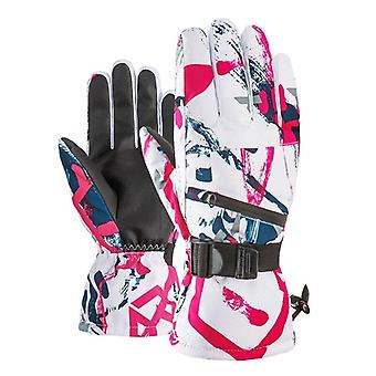 Waterproof Warm Gloves For Skiing Skating Riding