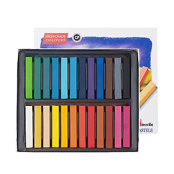 Inscribe IMPSF24 Soft Pastel Set 24 Colours Full Size