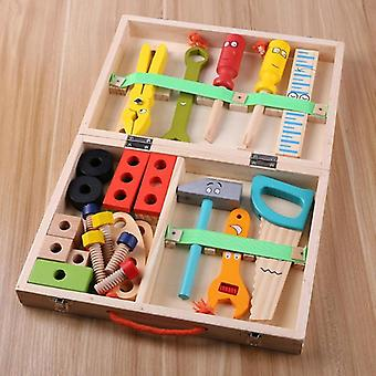 Kids Baby Wood Multifunctional Repair Tool