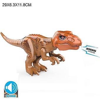 Brutaali Raptor-rakennus Jurassic Blocks, Dinosaur figures Bricks, Dino