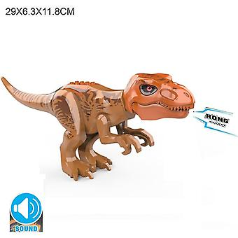 Brutal Raptor Building Jurassic Blocks, Dinozaur figurki Cegły, Dino