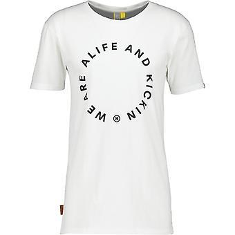 Alife & Kickin T-shirt logotyp för män