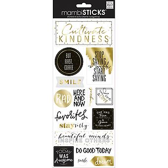 Me And My Big Ideas - Clear Stickers - But First Coffee