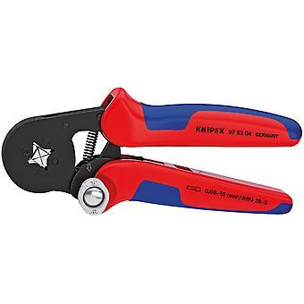 Knipex 78433 Self Adjusting Ferrule Crimping Pliers