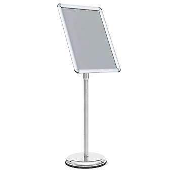 vidaXL A3 Plakat Stand Sølv Aluminium Legering
